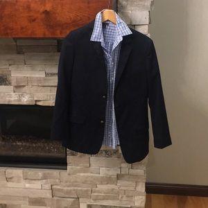 Boys Tommy Hilfiger jacket and dress shirt